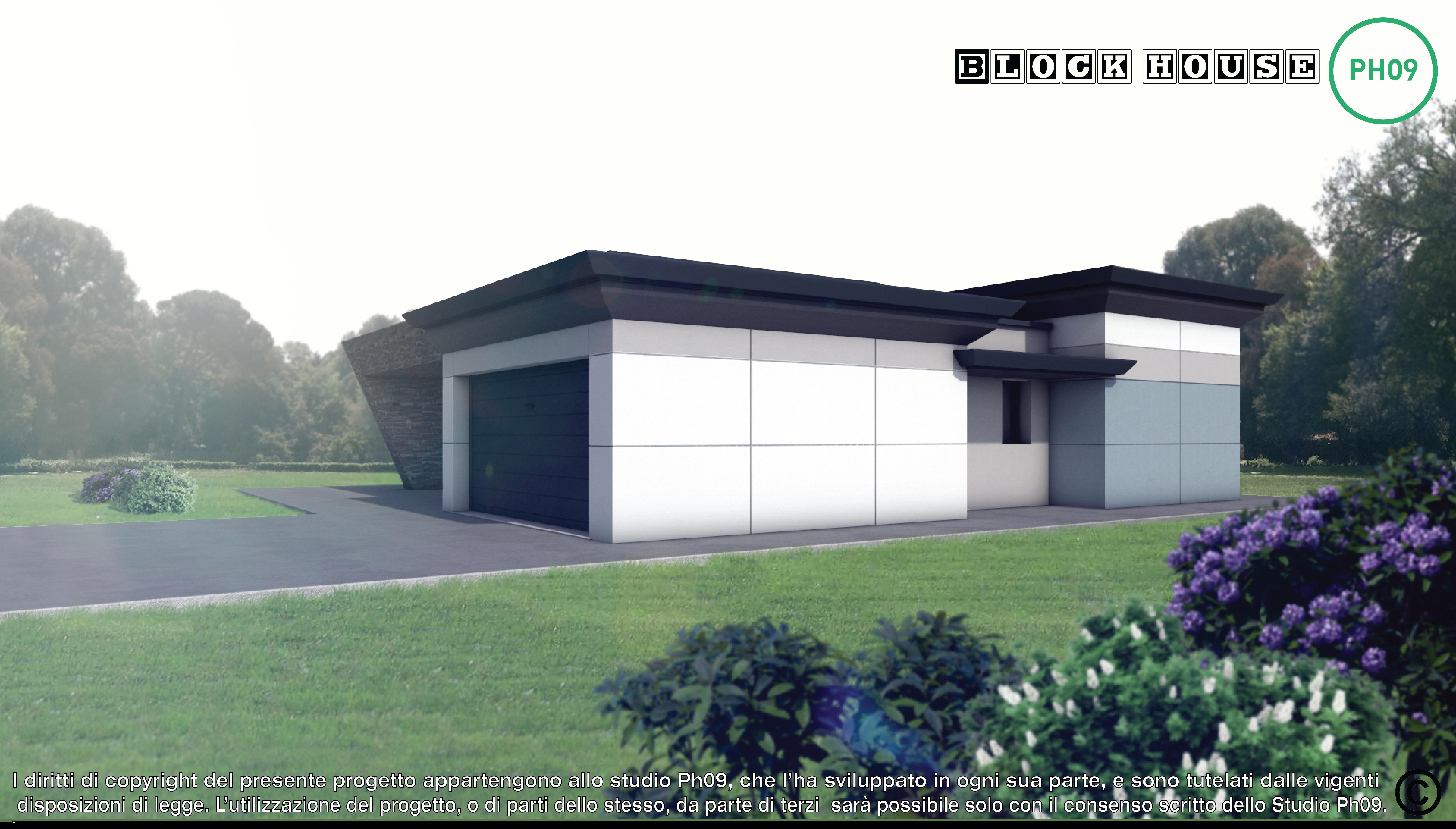 02-3D BLOCK HOUSE