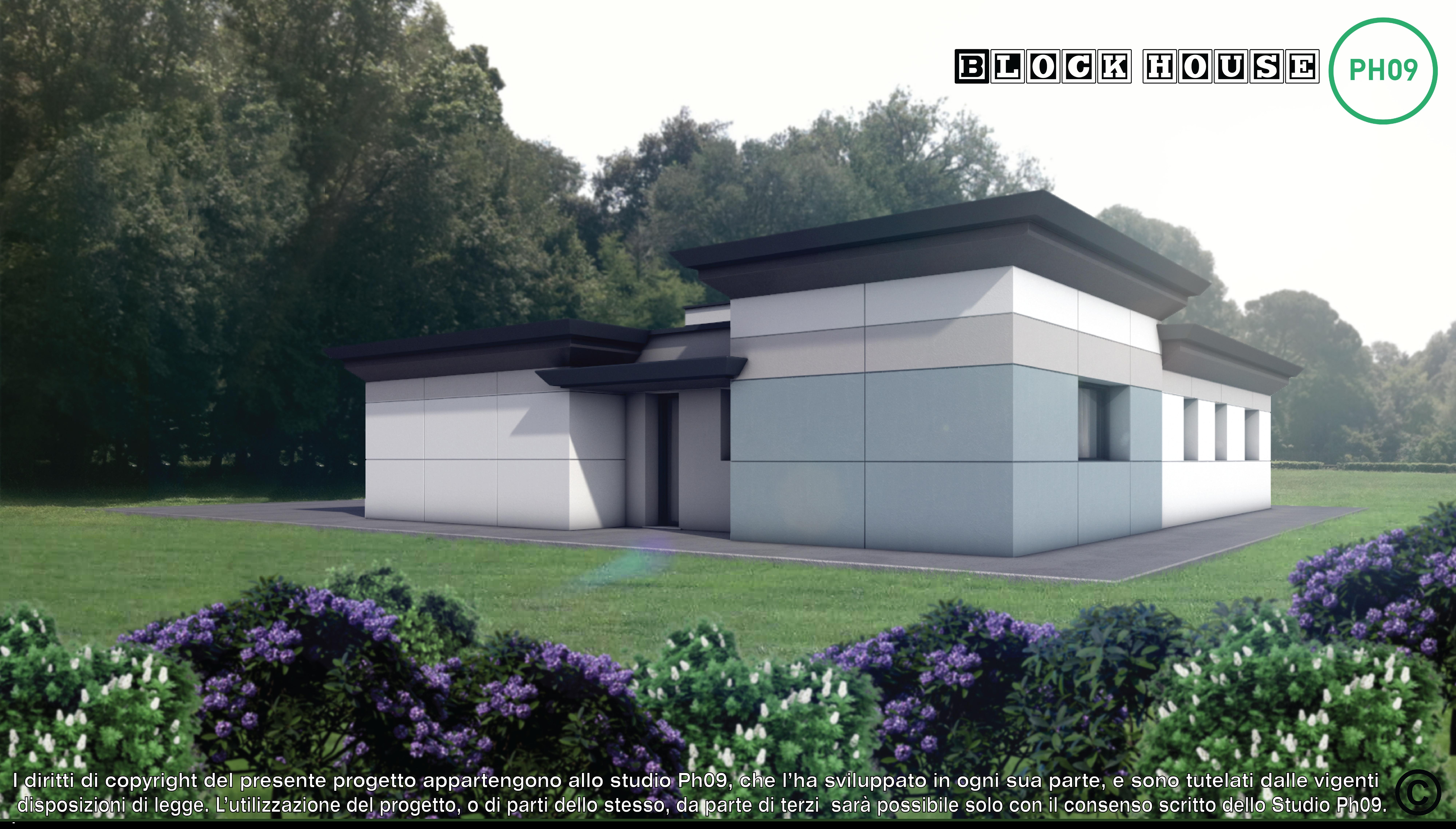 03-3D BLOCK HOUSE