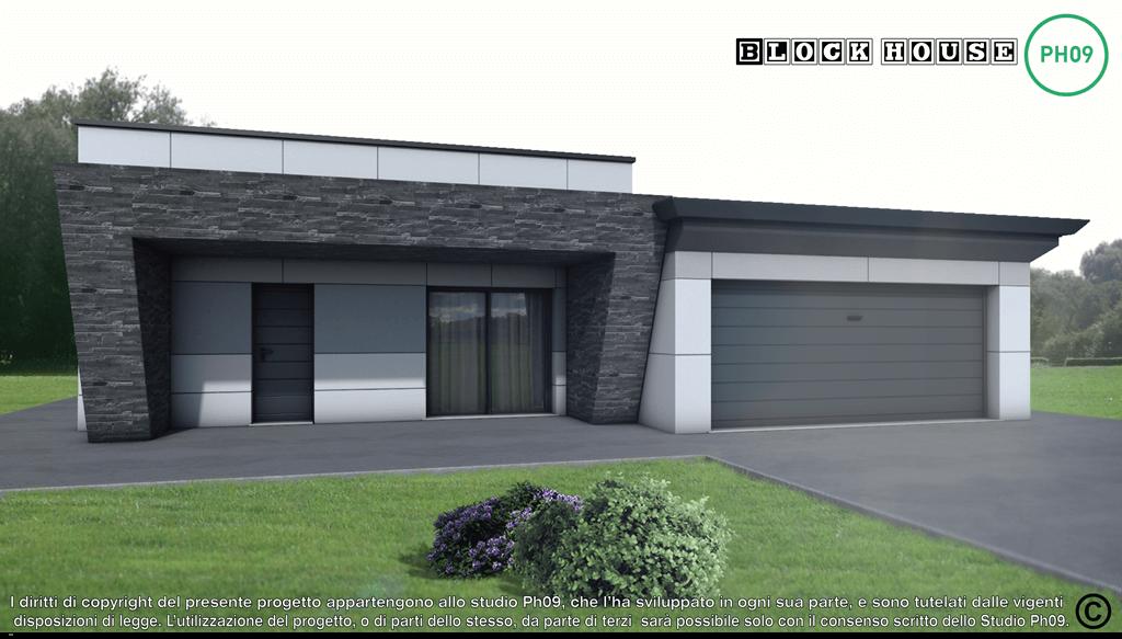 05-3D BLOCK HOUSE