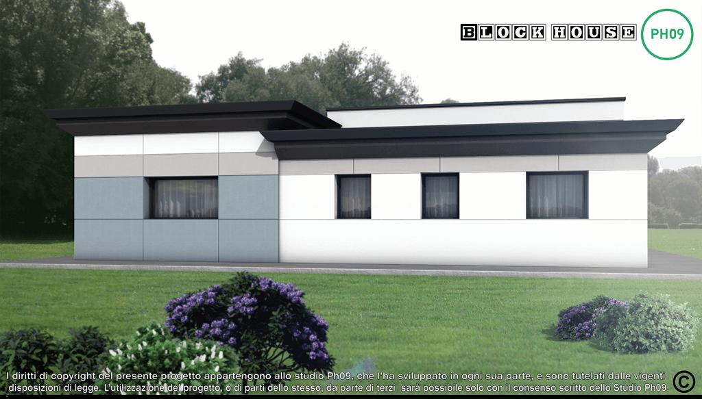 06-3D BLOCK HOUSE